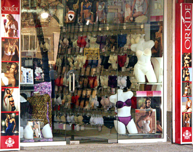 продажба на едро и дребно на бельо, пижами, коресети от марките Orkide, Maranda, Teknur, Emay Korse